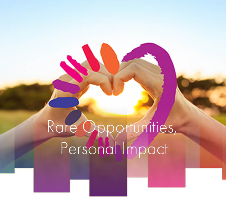 Rare Opportunities, Personal Impact